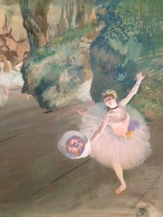 Edgar Degas Star of the Ballet painting for sale, this painting is available as handmade reproduction. Shop for Edgar Degas Star of the Ballet painting and frame at a discount of off. Edgar Degas, Ballet Painting, Ballet Art, Degas Paintings, Impressionist Paintings, Ballerine Degas, Canvas Art Prints, Painting Prints, Degas Dancers