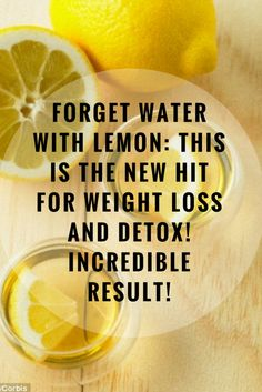 Forget about Water with Lemon: This Is the New Hit for Weight Loss and Detox!