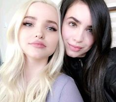 Dove & Sofía  Mal & Evie  #descendants #descendants 2