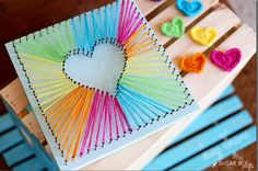 15+ Lovely DIY String Crafts for Kids that Are a Must-Try