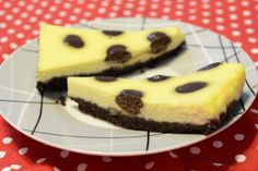 Lusi creates: Bodkovaný cheesecake (Polka dot cheesecake)
