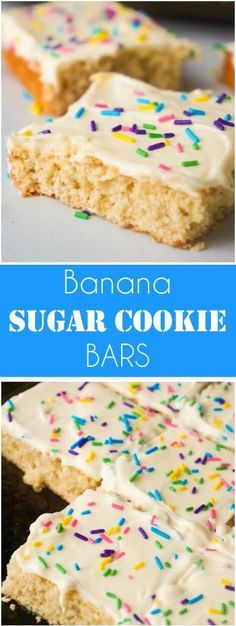 Banana Sugar Cookie