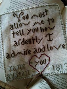 Jane Austen Love Letter EPATTERN