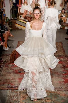 Pin for Later: 5 Bridal Trends to Know If You're Getting Married in 2016  Collection: Houghton Spring 2016