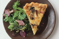Mushroom and Fontina Quiche recipe