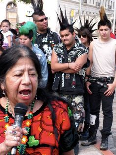 Lorna Dee Cervantes, Chicana thinker, author and punk