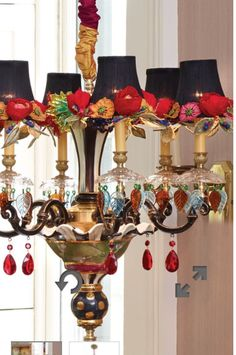 - Home Decorations Funky Furniture, Paint Furniture, Origami Lamps, Mackenzie Childs Furniture, Mackenzie Childs Inspired, Mckenzie And Childs, Deco Boheme, French Country Decorating, Lampshades