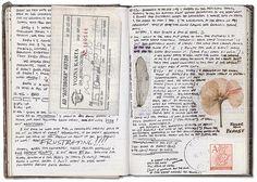 travel journal by retro traveler, via Flickr