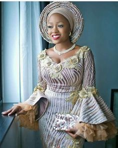 Latest AsoEbi Outfits You Don't Wanna Miss - African Fashion Styles. - Latest AsoEbi Outfits You Don't Wanna Miss – African Fashion Styles. Latest ankara fashion styles you need to see. Let's take a look at the photos below. Source by - Latest African Fashion Dresses, African Fashion Ankara, African Dresses For Women, African Print Fashion, Africa Fashion, African Attire, Aso Ebi Lace Styles, Lace Gown Styles, African Lace Styles