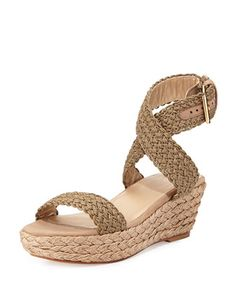 3965898fd4b4 Stuart Weitzman Alexlo Crochet Wedge Sandals