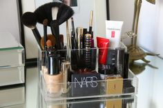 love this clear acrylic makeup unit