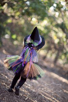 Fancy Witch Tutu Sparkling Satin Witch by PoshPinksTutu on Etsy, $49.95