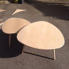 DIY - table basse tripode gigogne                                                                                                                                                                                 Plus