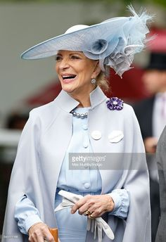 Princess Michael of Kent attends day 3 'Ladies Day' of Royal Ascot at Ascot Racecourse on June 16, 2016 in Ascot, England.