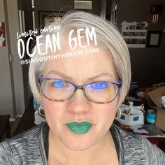 Limited Edition Ocean Gem LipSense by SeneGence is a cool color. You can view it on people, look at combos or comparisons or even in a collage.  However, nothing rivals seeing it on a real person.  Click to purchase yours NOW!  #lipsense #senegence