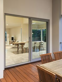 Aluminium sliding door by A&L Windows. Supplier to Fairmont Homes.