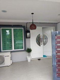 Ruang depan & Bahagian depan rumah | Dream house | Pinterest | Kos and House