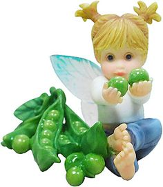 SWEET PEA FAIRIE ___From Series Thirty Three of the My LiTTLe KiTcHeN FAiRiES Collection from Enesco