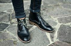 Sapato e calça