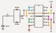 LED Lamp Circuit Schematic - Electrical Engineering Pics: LED Lamp Circuit Schematic