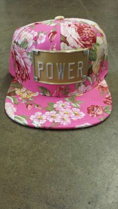 d6b6a945191 ROJAS Flower Power Snapbacks