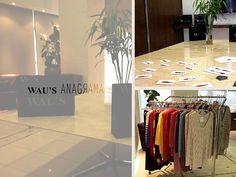 A WAU'S apresentou na última quinta-feira, dia 21 de Março, sua nova Coleção Anagrama aos editores da Ed. Globo em São Paulo. O evento, que carimbou o início da Campanha de Inverno de 2013, foi marcado pela apresentação dos novos modelos da marca e uma discussão sobre as tendências da estação que vem por aí.