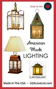 american made handcrafted lighting by lanternland made in usa indoor. Black Bedroom Furniture Sets. Home Design Ideas