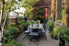 Mod Vintage Life: Garden Patios