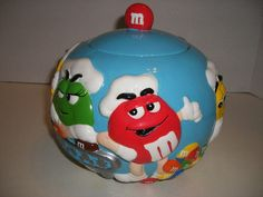 M & M's Cookie Jar