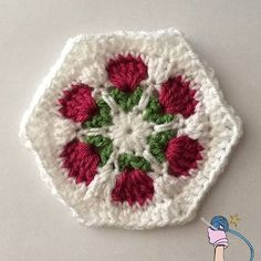 Have you made some Crochet Flower Garden Hexagon? What are you going to do with them? I'd love to see.. http://dearestdebi.com/crochet-flower-garden-hexagon