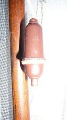 interruptor eléctrico tipo pera