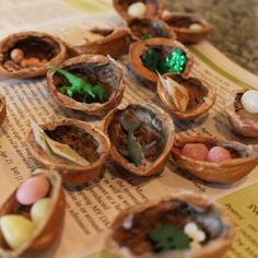 Have an unforgettable St. Paddy's Day with this Walnut Shell Treasure Hunt!
