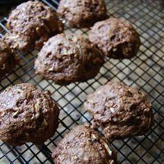 Chocolate Zucchini Cookies Allrecipes.com