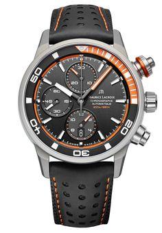 Maurice Lacroix Watch Pontos S Extreme #basel-15 #bezel-unidirectional…