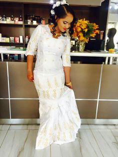Mali wedding fashion bazin brodé