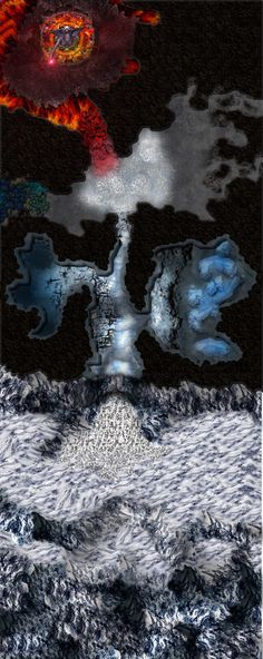 Dundjinni Mapping Software - Forums: Ask for Art - 'Fire & Ice' (Revised map)