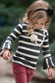 Adorable little girl clothes at this site
