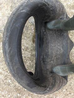 DIY Tire Planter