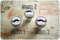 Piękne gałki meblowe z wąsami, moustache Vintage - imaginacyjna - Uchwyty do mebli