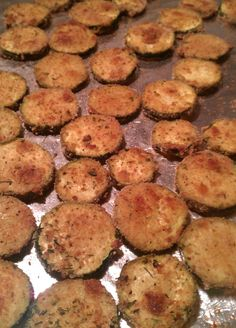 (Future) Skinny Bitch: Recipes!: Baked Zucchini Bites