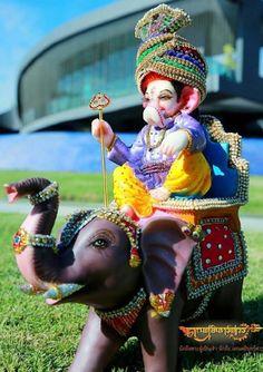 Ganpati bappa wallpaper by - 24 - Free on ZEDGE™ Jai Ganesh, Ganesh Idol, Ganesh Statue, Shree Ganesh, Ganesha Art, Ganesh Lord, Krishna Art, Lord Shiva, Shri Ganesh Images