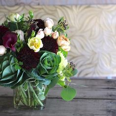 Absolutely in love with this combination of #cagrown flowers! #farmgirlflower Order one of our vase arrangements from www.farmgirlflowers.com.