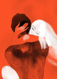Made by: Angie Wang , Embrace (Hug). Angie Wang is an illustrator and cartoonist based in Los Angeles.