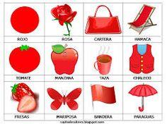 Imagenes de color rojo
