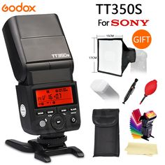 84.90$  Watch here - http://alip0l.shopchina.info/1/go.php?t=32773545959 - 100% Original Quality Godox TT350S GN36 2.4G TTL Camera Flash Speedlite for Sony A7 A7R A7II Free gift  #SHOPPING