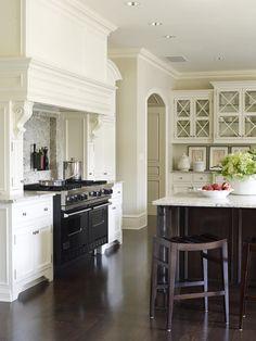 Architectural interest makes this Suzanne Kasler kitchen a standout. Photo: Tria Giovan