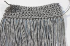 Fringe is fabulous! Find out how to add fringe to any project easily on the Woolery blog.