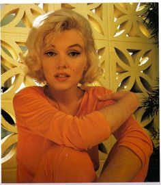 This is how she looked when she was 36...  Marilyn Monroe by George Barris