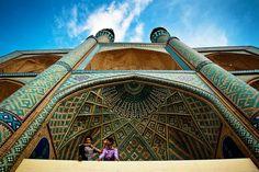Dolat Abad Garden , Yazd , Iran
