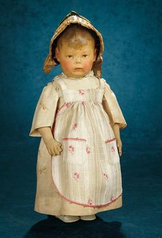 "Forever Young - Marquis Antique Doll Auction: 107 Rare German Cloth Character Known as ""Frog Hand"" by Kathe Kruse"
